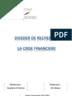 crise financiere 1