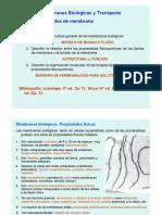 Membrana Celular y Estructura Resumen