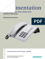 User Manual OptiPoint 500 Entry HP500-HP3000-HP5000