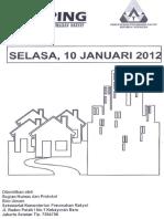 Scan Kliping Berita Perumahan Rakyat 10 Januari 2012