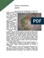Prezentare monografică a comunei Sohodol