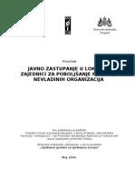 11 Javno Zastupanje u Lokalnoj Zajednici Za Poboljaanje Polo~Aja Nevladinih Organizacija