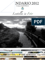 """Calendario """"Lentella in Foto"""" 2011"""