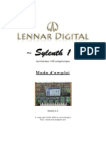 Sylenth1Manual French