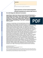 The Clinico-pathological Spectrum of Focal Cortical Dysplasias