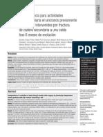 Articulo 1 Candel 08 In Depend en CIA Para Actividades Vida Diaria en Ancianos Estudio Analitico Longitudinal