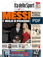 Gazzetta dello Sport - 10/01/2012