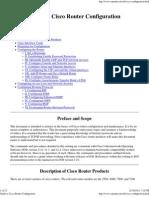Guide to Cisco Router Confi..