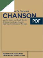 Chanson Son histoire et sa famille dans les dictionnaires de langue française