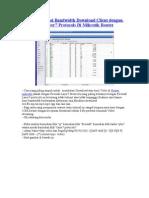 Cara Membatasi Bandwidth Download Client Dengan Firewall Layer7 Protocols Di Mikrotik Router