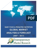 Sample_Baby Food & Pediatric Nutrition Market Global Analysis and Forecast (2007 - 2017)