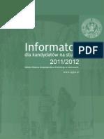 Informator-SGGW-2011-2012