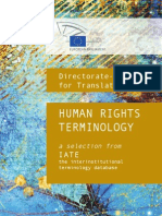 Human Rights Terminology
