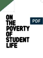 Mustapha Khayati - On the Poverty of Student Life