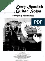 30 Easy Spanish Guitar Solos (Arr. Mark Phillips)
