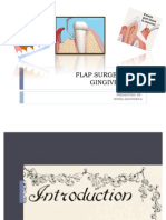 Flap Surgery and Gingivectomy