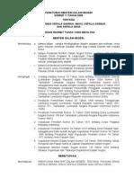 Peraturan Menteri Dalam Negeri Nomor 11 Tahun 2008 Tentang Pakaian Dinas Kepala Daerah, Wakil Kepala Daerah dan Kepala Desa