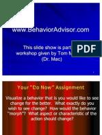 Behavior Recording