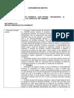 (www.reformasanatate.ro) Nota Fundamentare Legea privind Reforma Sanatatii