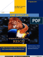 KMF 1st Epistle 2011