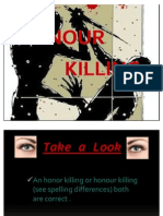 Honour Killing Ppt