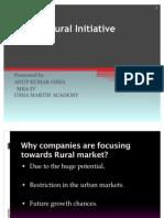 Ppt on Godrej Rural Initiative by Anup Kumar Ojha