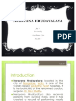 Ppt on Narayana Hrudayalaya by Anup[ Kumar Ojha