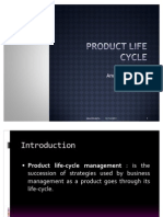 PPT on Product Life Cycle by ANUP KUMAR OJHA