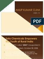 Ppt on Tata Chemicals Rural Initiative