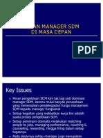 52963111 Peran Manager Sdm