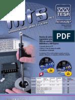 Tecnimetal Hits 2012-1  Pies de rey, micrómetros, comparadores, rugosímetros … y las famosas columnas de alturas de la empresa suiza TESA Technology.