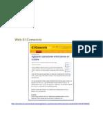 Web El Comercio Junio 2011