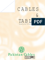 2 - Cables and Tables