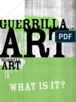 Catalyst Guerrilla Art Powerpoint
