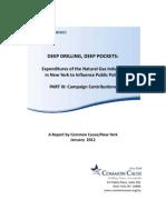 Deep Drilling Deep Pocket 3 Campaign Expenditures