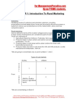 Rural Marketing Notes First Lecture[1]