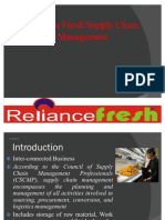 Reliance Fresh Supply Chain