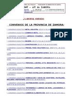 CONVENIOS Y LEGISLACIÓN LABORAL ACTUALIZADA. CNT de Zamora.