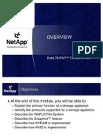Data ONTAP - Module 1