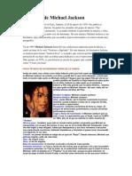 Biografía de Michael Jackson