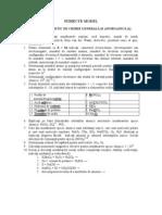 Subiecte Model Ro Si 2011