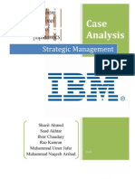 IBM Case Study; Strategic Management Final Report