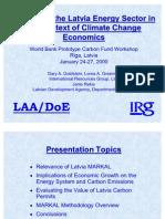 Energy Sector Economics