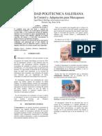 mecanismos de control y adactacion para marcapasos