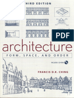 F.D.K. Ching Architecture Form, Space, And Order 3ed