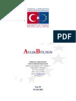 Avrupa Birliği Bakanlığı Aylık Bülten Sayı 10 (Ocak)