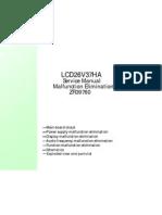 LCD26V37HA Service