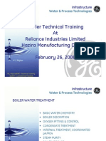 Boiler Water Training