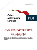 GMS Administrative Guidelines (February 2010)