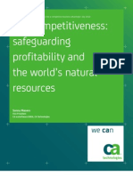 Eco Competitiveness Turning Environmental Sustainability Into a Competitive Business Advantage